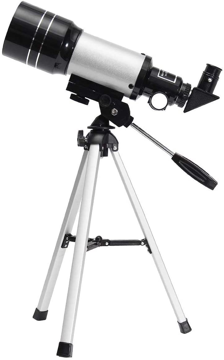 EGOERA Space Astronomic Telescope, Professional 150X Kids Telescopes Sky Monocular Telescopes for Kids with Tripod and 2 Options Eyepiece Educational Toys for Sky Star Gazing