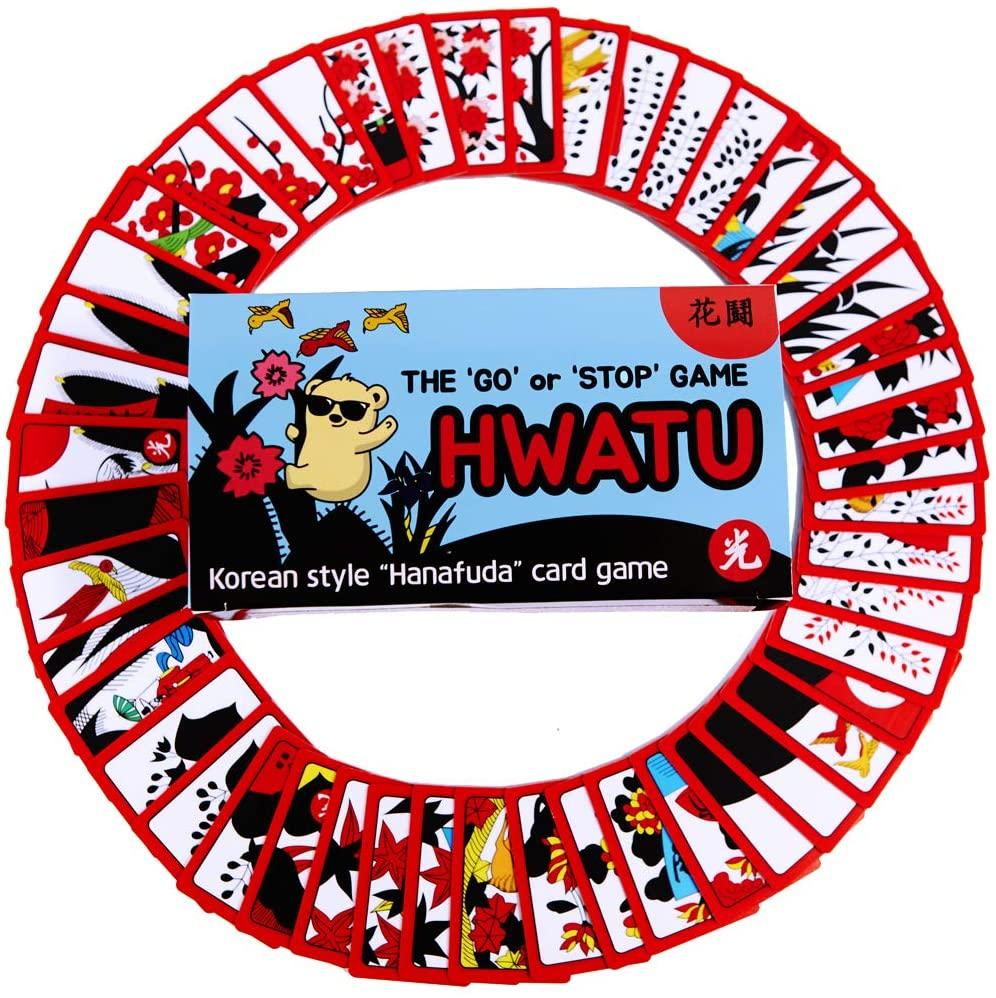 Hwatu - Korean Flower Card Game – Korean Hanafuda – Go Stop Card Game HWATOO – Godori Game – Korean New Year Board Game