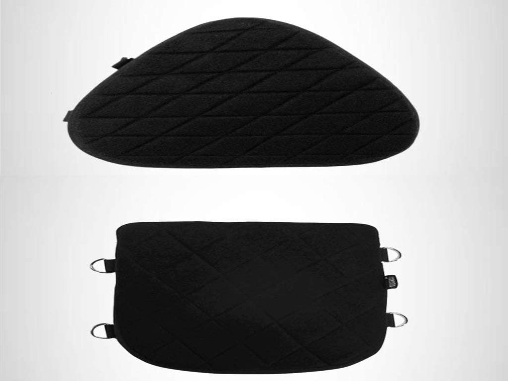 Motorcycle Both Seats Gel Pads for Harley Softail