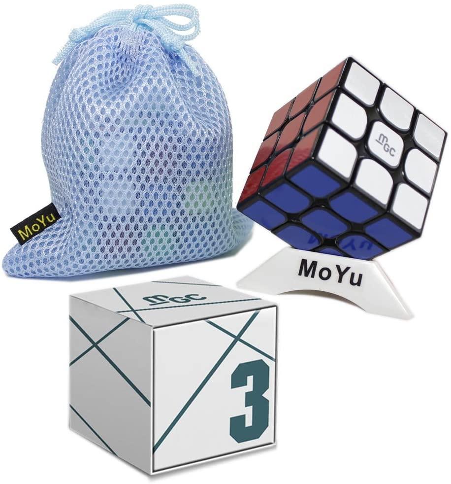 GoodPlay YJ MGC 3x3 Magic Cube 3x3 M Speed Cube Black Puzzle Toys