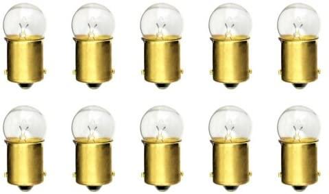 CEC Industries #303X Bulbs, 28 V, 8.4 W, BA15s Base, G-6 shape (Box of 10)