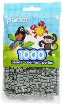 Bulk Buy: Perler Beads 3 Pack 1,000 Count Grey