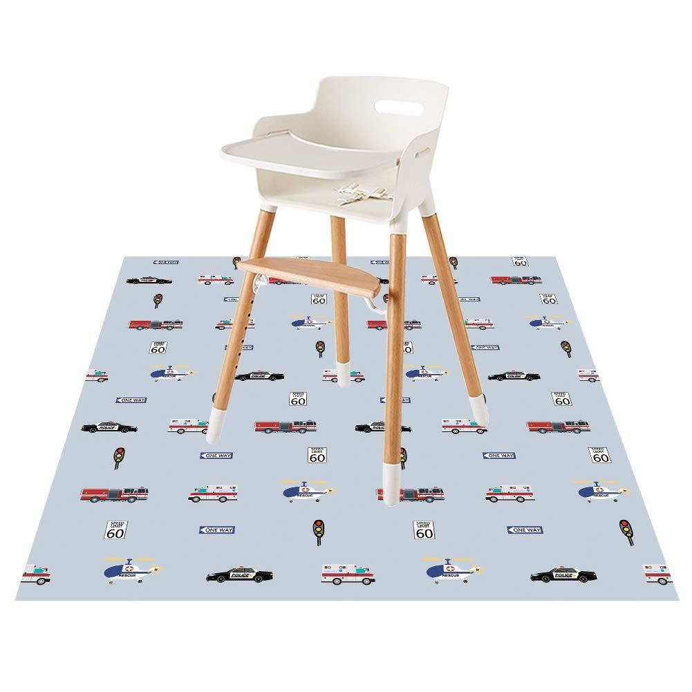 Baby Splat Floor Mat for Under High Chair/Arts/Crafts by CLCROBD, 51