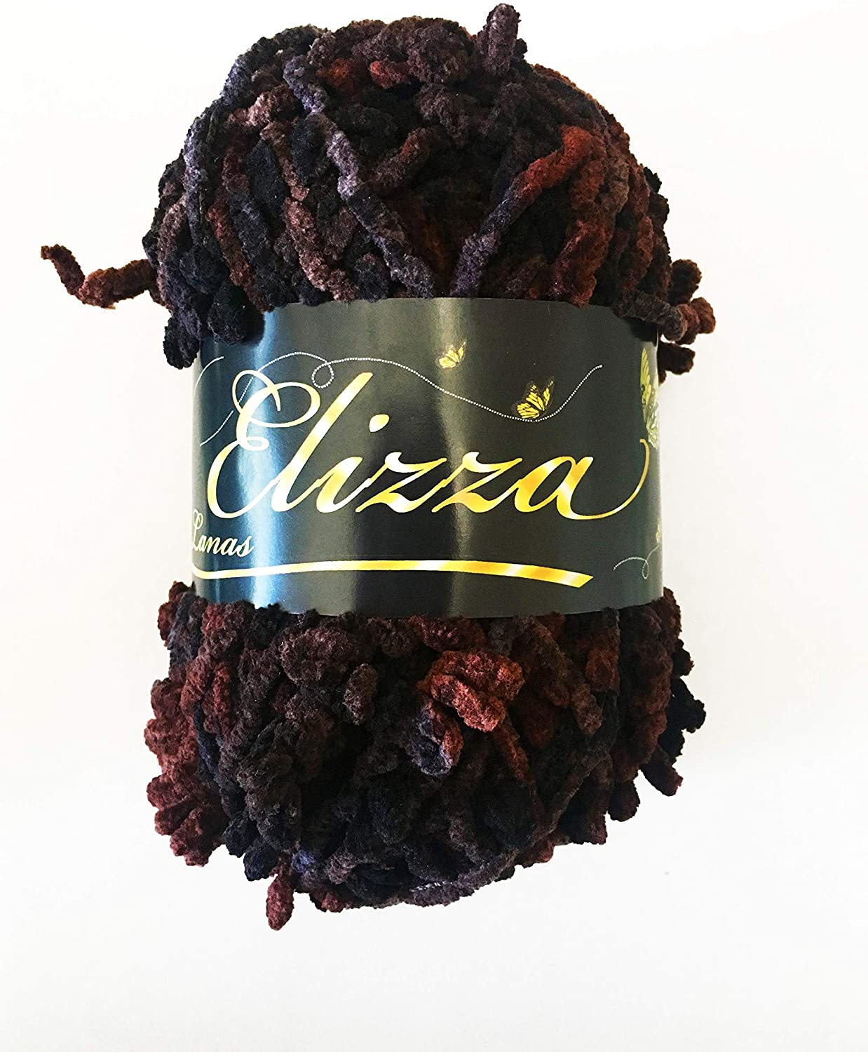 Yarn Wool Flower Elizza's Brand - Color 05 Pack x 2 Units