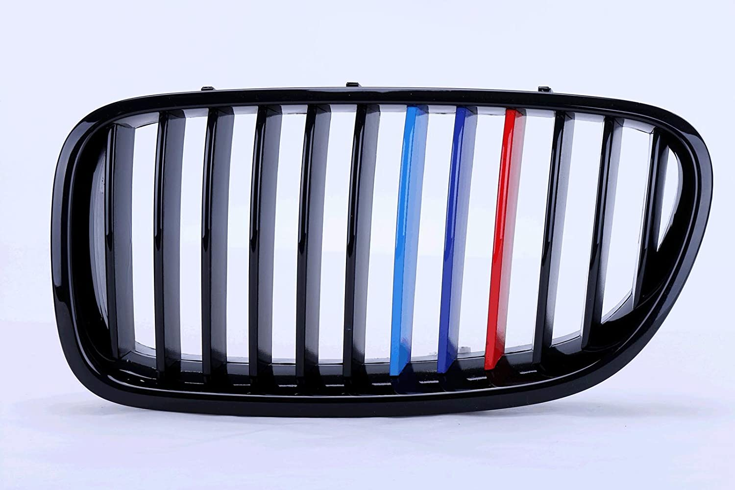 F10 F18 Grill M-Color Gloss Black Front Hood Kidney ABS Plastic Grille Grill For BMW 5 Series BMW F10 F18 2 Doors 2010-2014MW E92 E93 2 Door 2010-2014
