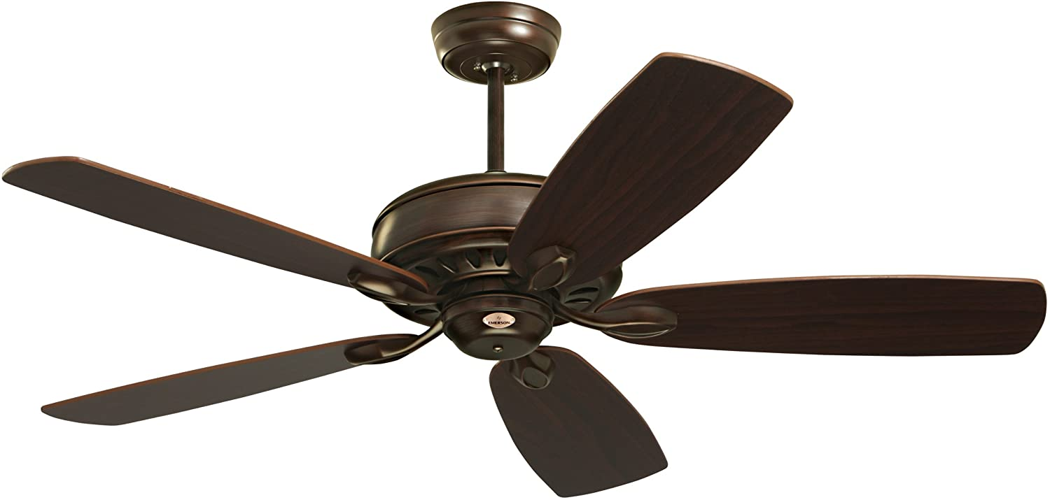 Emerson Ceiling Fans CF901VNB Prima Energy Star Ceiling Fan With Wall Control, Light Kit Adaptable, Venetian Bronze Finish