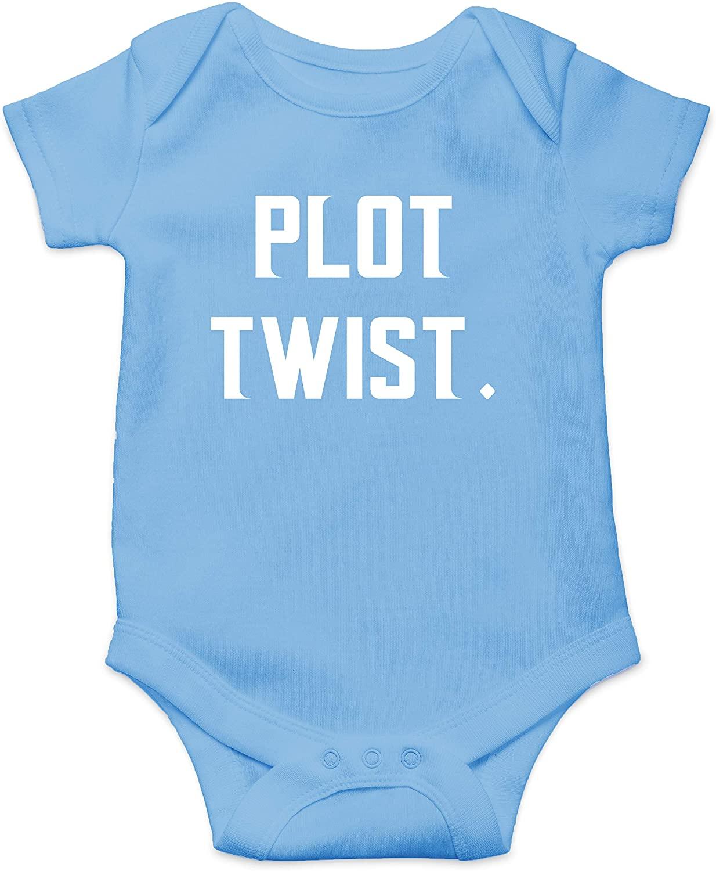 Plot Twist - Plan Changer Bundle of Joy - Funny Cute Infant Creeper, One-Piece Baby Bodysuit