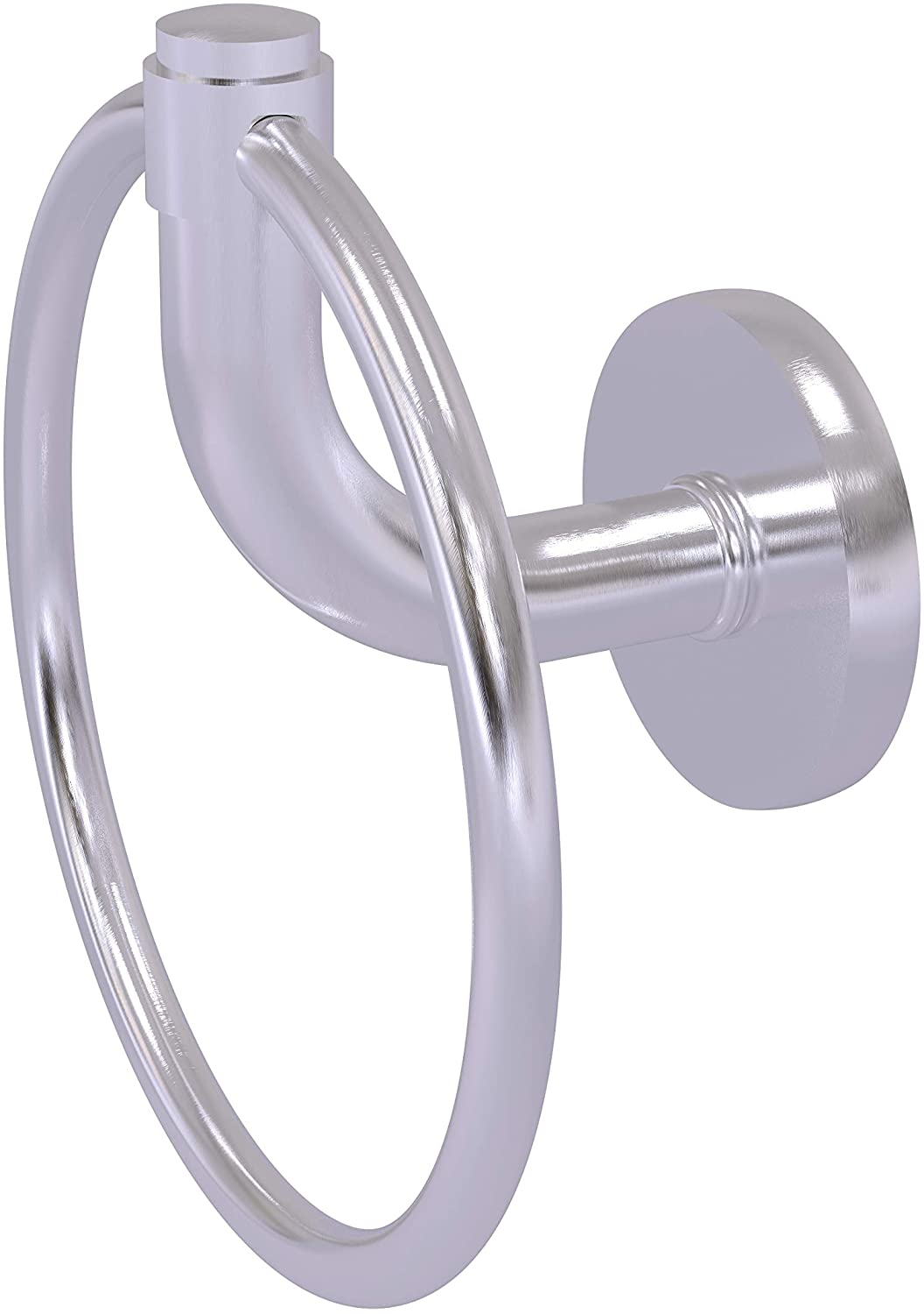 Allied Brass RM-16 Remi Collection Towel Ring, Satin Chrome