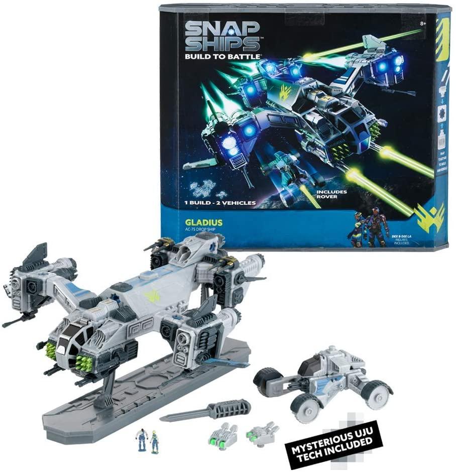 PlayMonster Snap Ships Gladius AC-75 Drop Ship