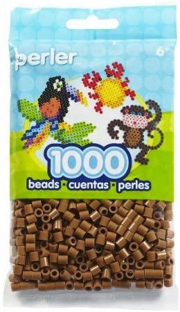 Perler Beads 1000/Pkg-Light Brown