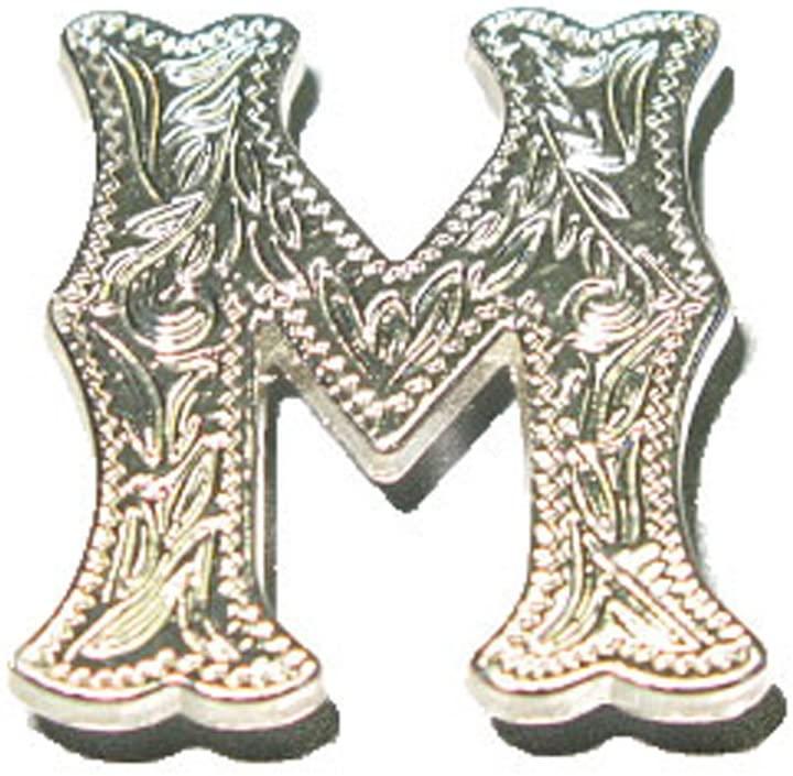Alphabet Concho 1339-00 (Alphabet Concho 'M' 1339-01)