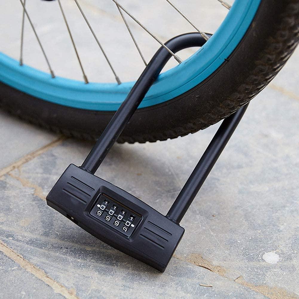 Wear-Resisting High Strength Bike Lock U Lock Bicycle Locks Motorcycle for Bike Electric Bicycle