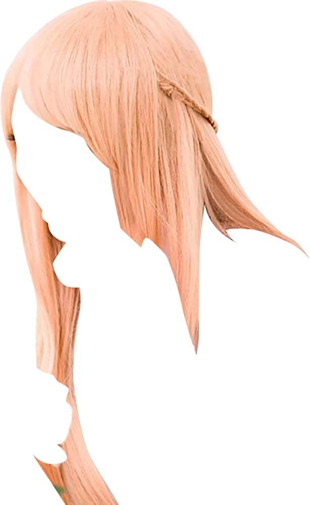 Etasy Cosplay Wig for Sword Art Online Yuuki Asuna Apricot