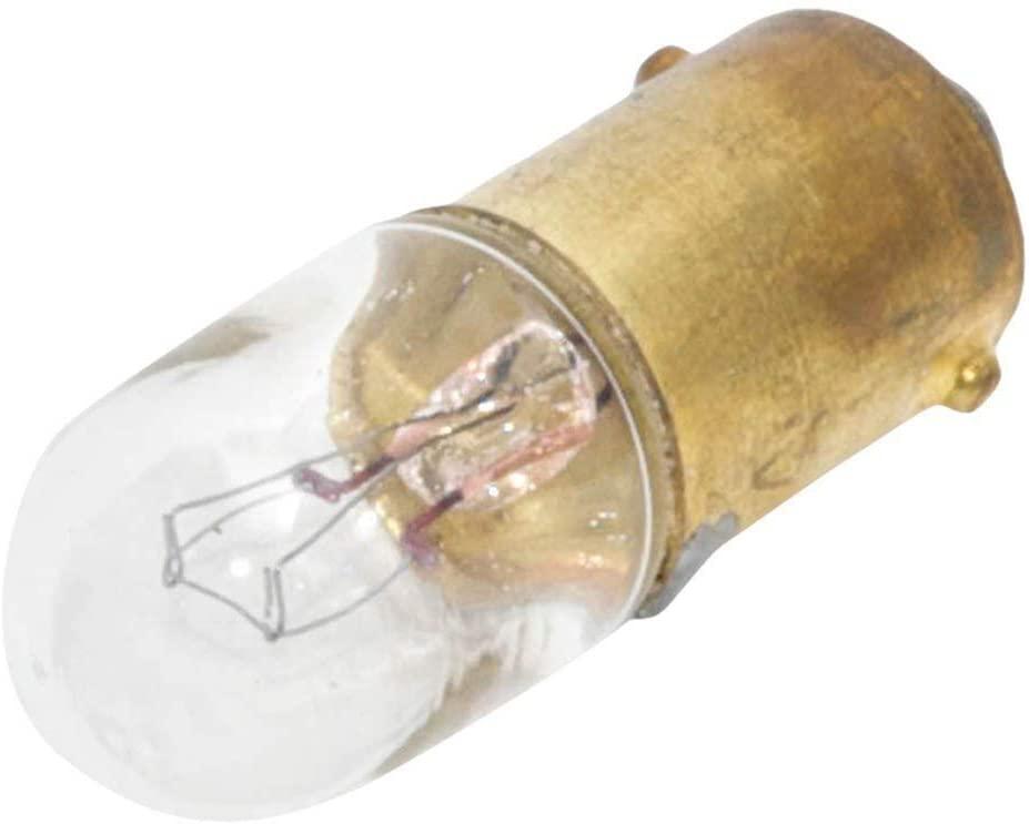 CEC INDUSTRIES 1835 LAMP, INCANDESCENT, MINI BAYONET/BA9S, 55V, 2.75W (100 pieces)