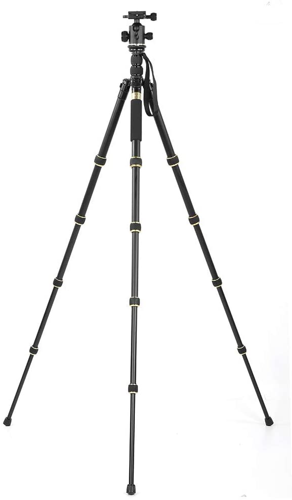 V BESTLIFE Tripod, Alloy 360 Degree SLR Camera Tripod for Canon for Sony for Nikon for Pentax for Olympus and Other Types of SLR Mirrorless Camera