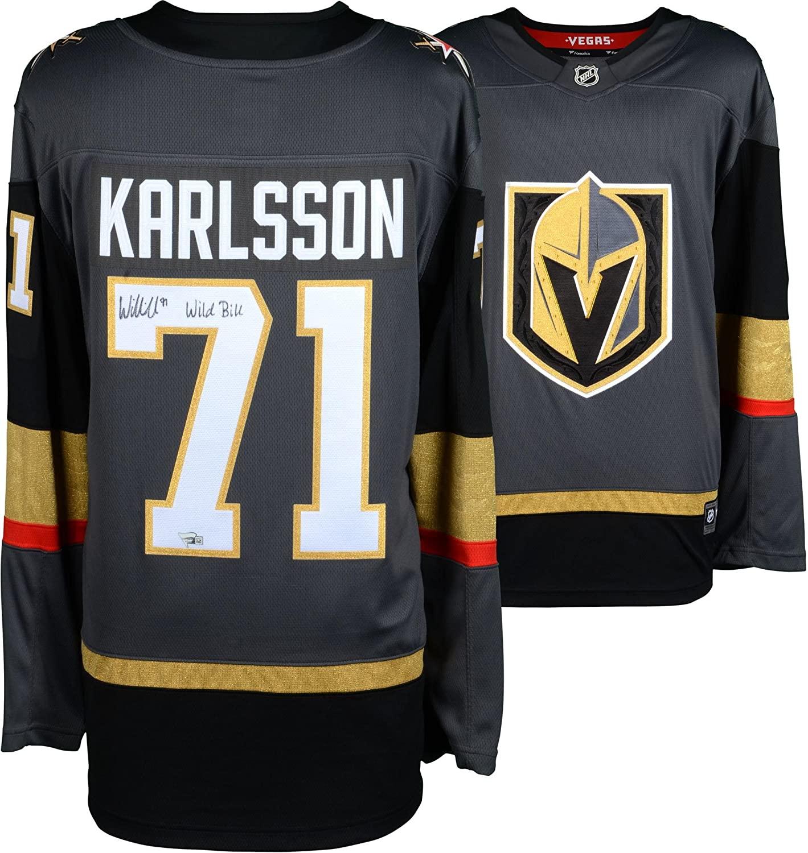 William Karlsson Vegas Golden Knights Autographed Black Fanatics Breakaway Jersey with