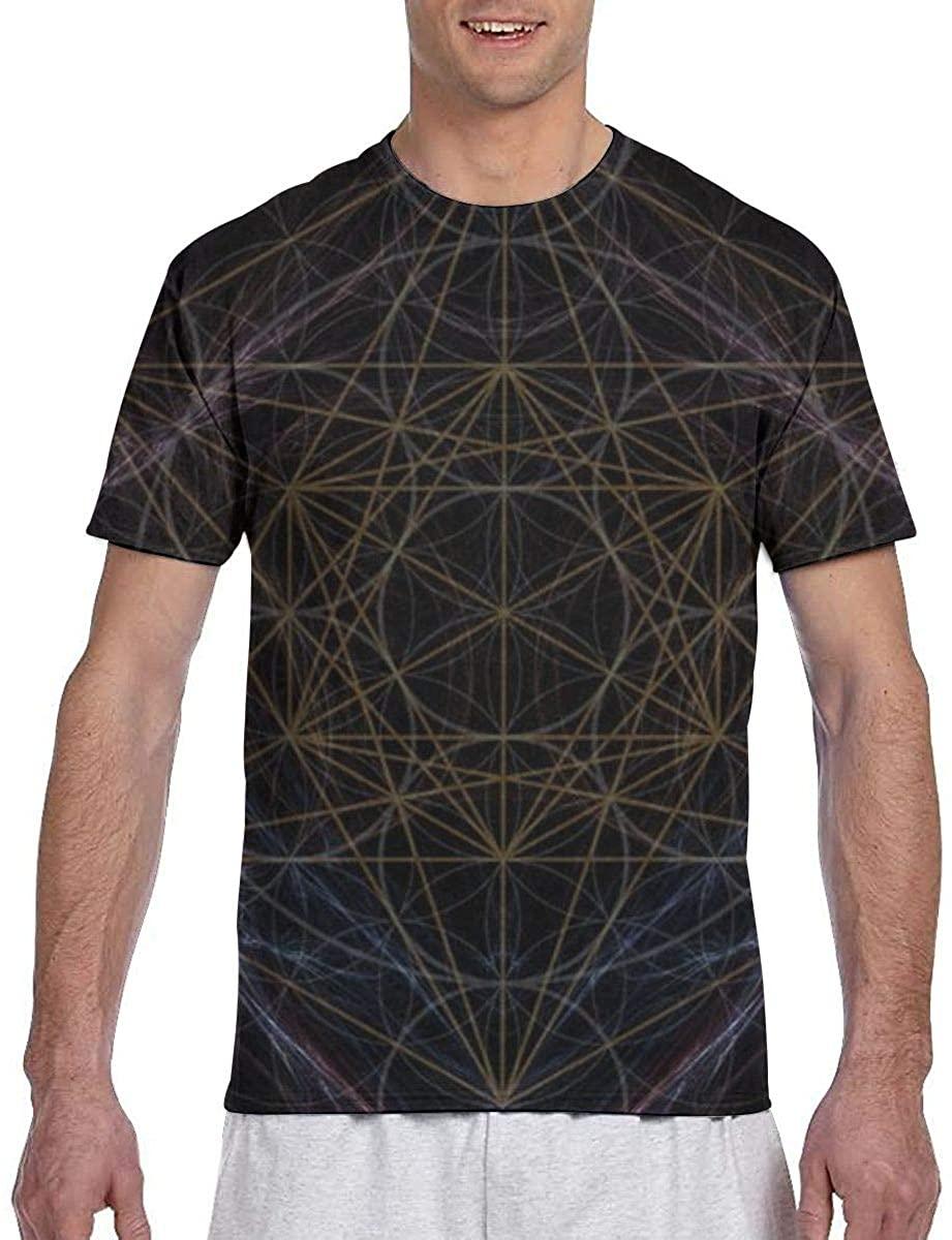 NiYoung Mens T-Shirt Short Sleeve Henley Shirt Top Tees Hip-Hop Tucked Workwear