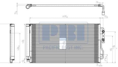 Go-Parts - for 2012 - 2018 BMW 335i xDrive A/C Condenser - (F30 Body Code; Sedan) 64 50 6 804 722 BM3030133 Replacement 2013 2014 2015 2016 2017
