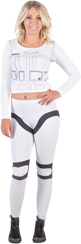 Star Wars Stormtrooper Women's Top and Pants Costume Set