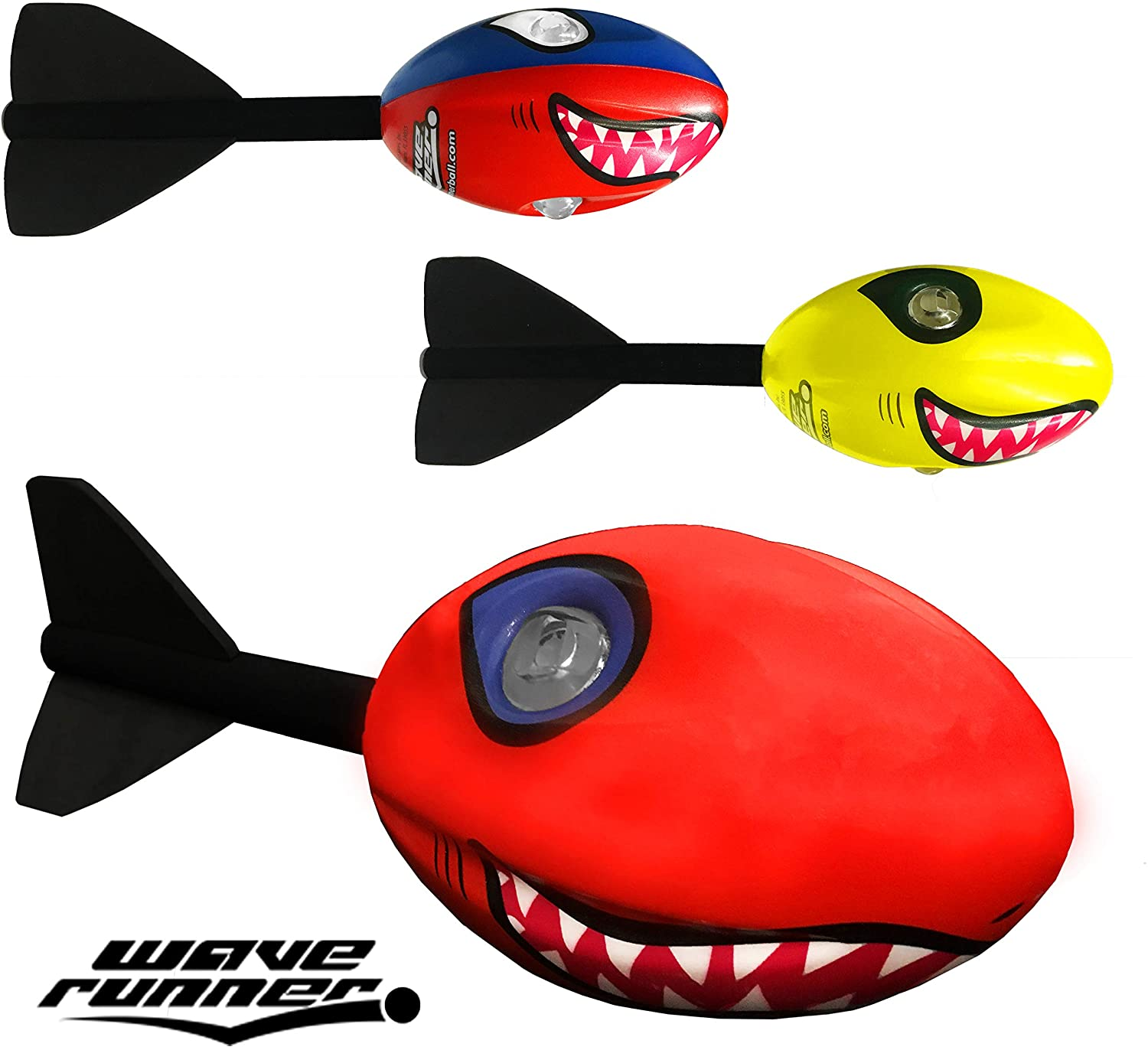Wave Runner Bundle Shark Whistler Football with Tail Pack Now with Vortex Technology! Great Wholesaler Bulk Retailers