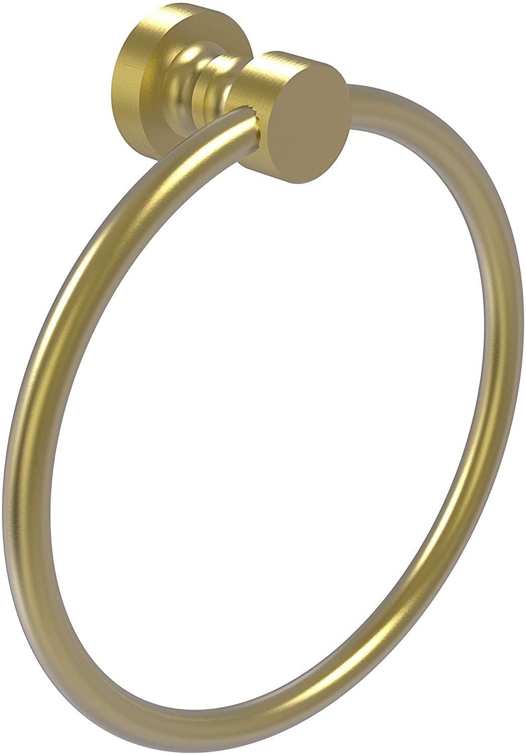 Allied Brass FT-16 Foxtrot Collection Towel Ring, Satin Brass
