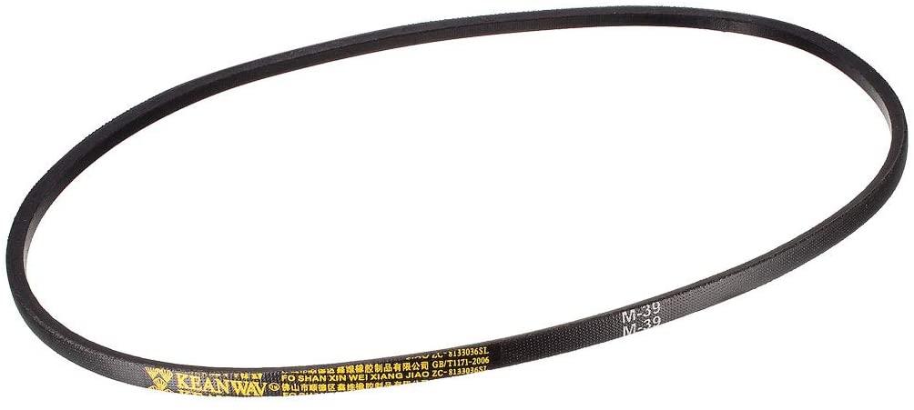 uxcell M39 Drive V-Belt Girth 39-inch Industrial Power Rubber Transmission Belt