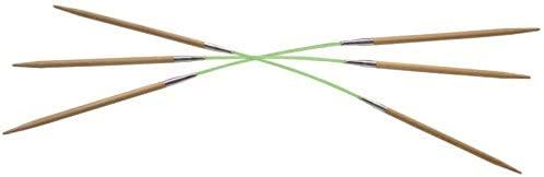 HiyaHiya Flyers Double-Pointed Flexible Bamboo Knitting Needles, Set of 3 (US 5/3.75mm)