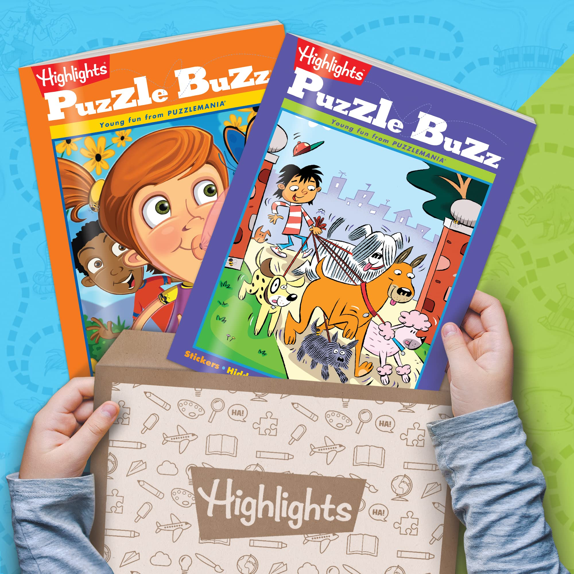 Highlights Puzzle Club - Kids Puzzle Books Subscription: AGES 4–7 BOX
