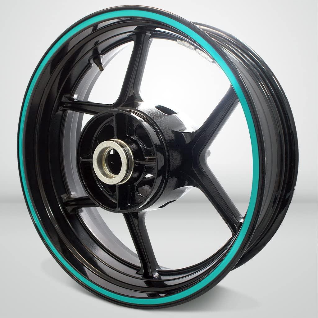 Thick Outer Rim Liner Stripe for Suzuki GSX 600R Matte Turquoise