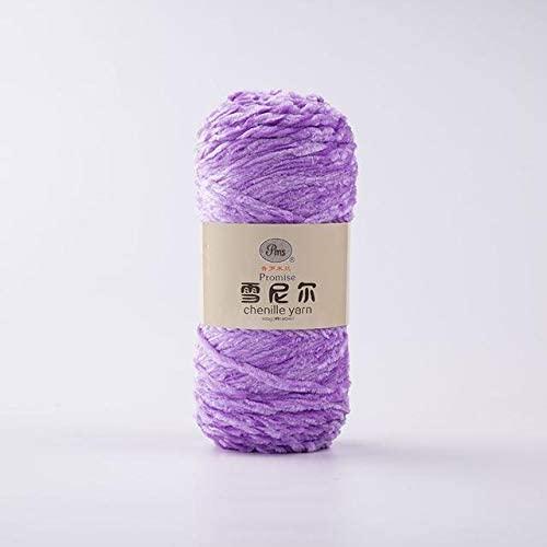 LY 100g/ball DIY Soft Chenille Yarn 100% Polyester Winter Warmth Pleuche Cashmere Yarn Baby Wool Thread Hand Knitting Crochet (17)