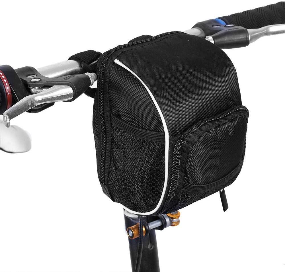 Weiyirot Bicycle Frame Bag Handlebar Bag, Quick Release Bike Bags Front, Bike Front Storage Bag Bicycle for Bike
