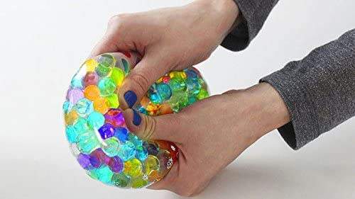 Make Your Own Stress Balls with of Cosmo Beads ™ Water Balls for Hand Strengthening Activity (White)