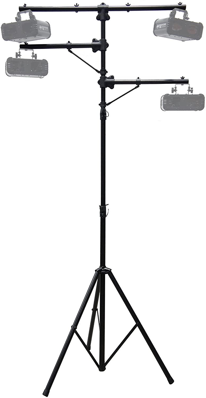 Harmony Audio HA-TREESTAND Pro Audio DJ Lighting Multi Arm Tripod & T-Bar Light Stand