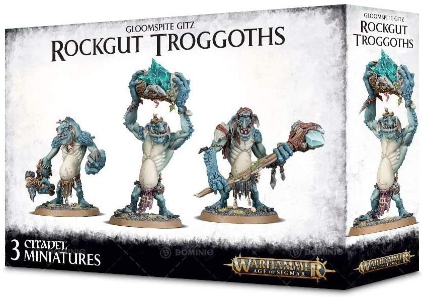 Games Workshop Warhammer Age of of Sigmar Rockgut Troggoths