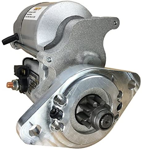 Rareelectrical NEW GEAR REDUCTION STARTER COMPATIBLE WITH YANMAR ENGINES 2GM20 1982-89 1990 128170-77010D