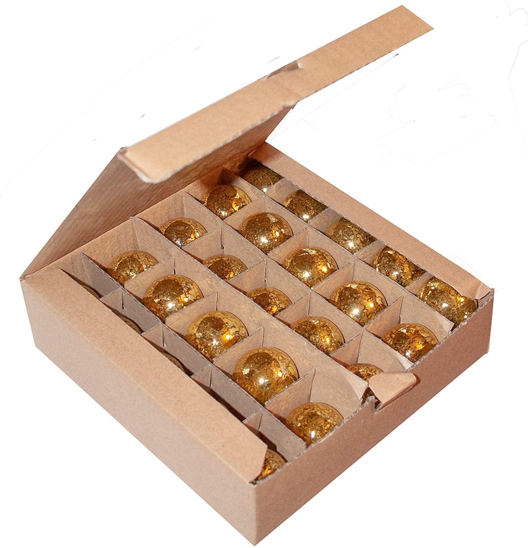 Hometown Evolution, Inc. Box of 25 G40 Mercury Gold 1.6 Inch 5 Watt C7 (E12) Base Replacement Bulbs