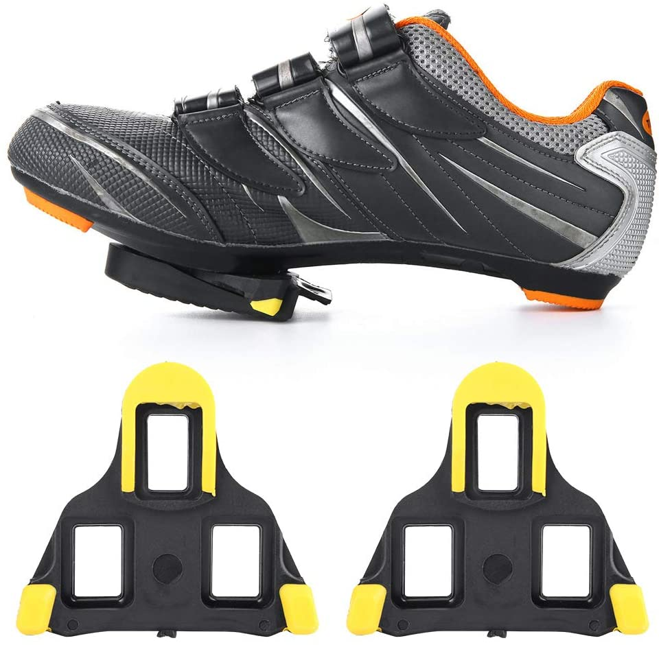 Delaman Pedal Cleat Cover, Rubber Cover for Shimano SPD-SL Cleats Road Bike Bicycle Cycling Pedal Cleat 1 Pair