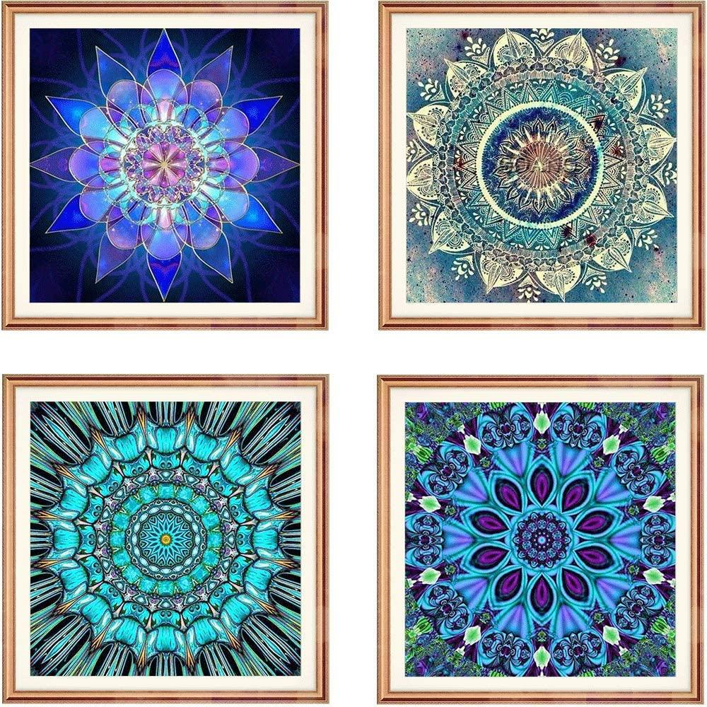 DIY 5D Full Drill Diamond Painting By Number Cross Stitch Diamond Mosaic Mandala Painting Handmade Kits Diamond Embroidery Painting Handmade Wall Painting Wall Art