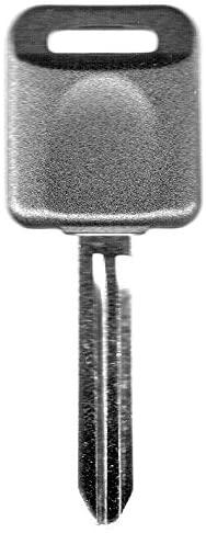 Transponder Key Blank Fits 2005 2006 Nissan Altima (Only models with regular ignition)