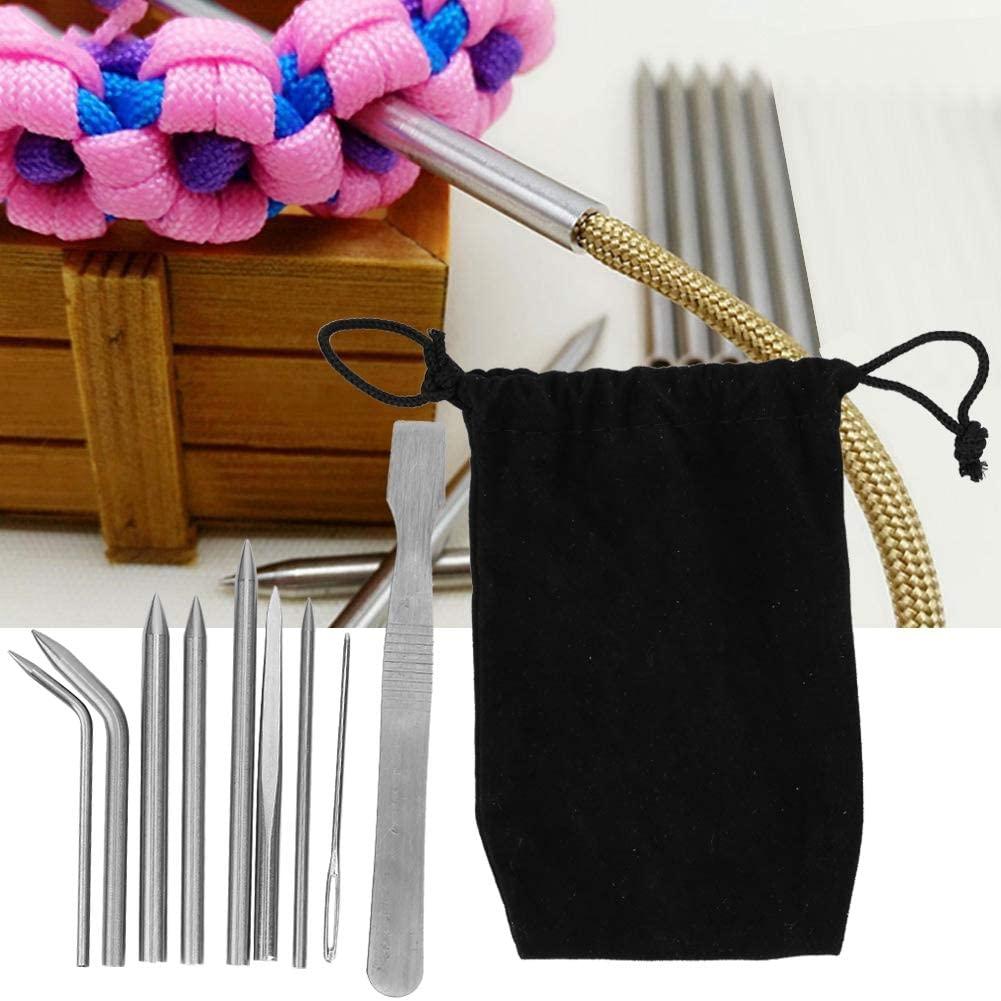 Taidda- Knitting Needles, Umbrella Rope Needle Sturdy DIY Accessories, Backpack for Knitting Bag