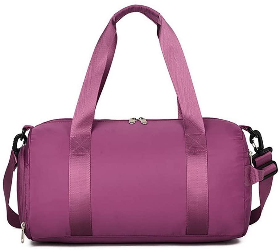 OonlyoO Swimming Gym Bag Durable Travel Gym Bag Table Tennis Dance Hiking Storage Bag