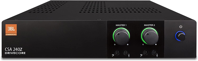 JBL Professional CSA240Z Commercial Series Two-Channel 40-Watt Power Amplifier