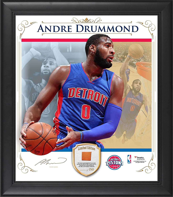 Andre Drummond Detroit Pistons Framed 15