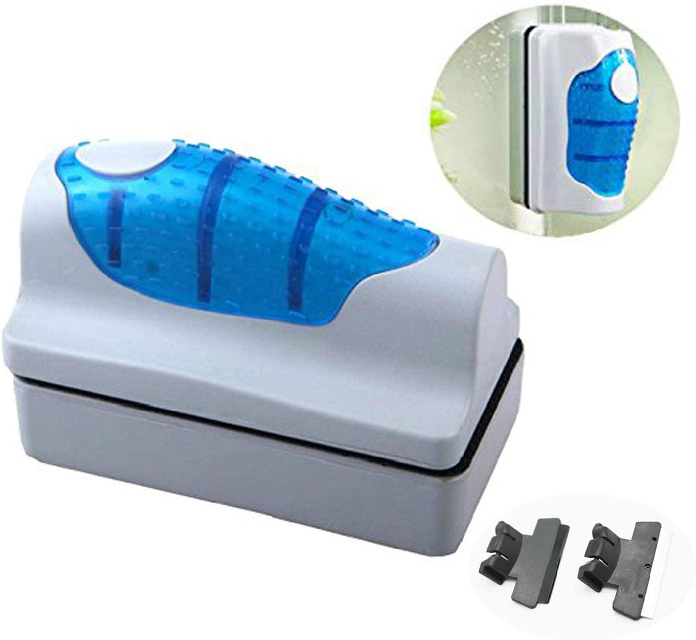 Amicc Magnetic Brush Glass Algae Scraper Cleaner Aquarium Fish Tank Floating Curve