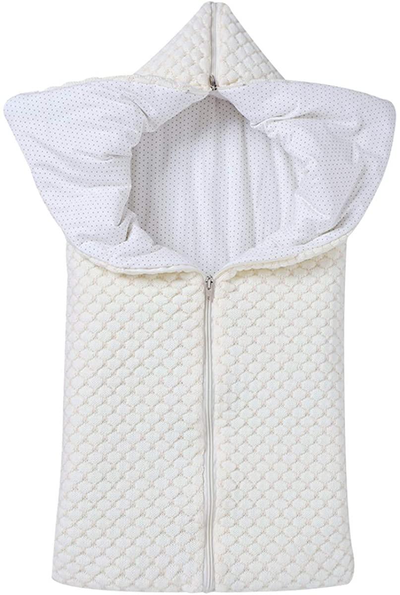 SunshineFace Baby Sleep Sack, Multifunction Newborn Infant Swaddle Blanket Stroller Wrap for 0-12 Months Babies