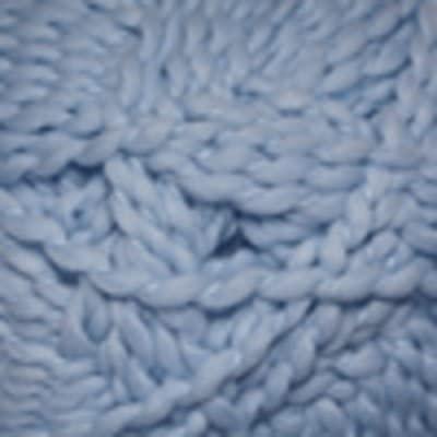 Cascade Yarns Swaddle Bulky Weight Polyester Yarn #201 Baby Blue