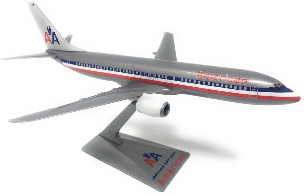 American Astrojet 737-800 Airplane Miniature Model Snap Fit Kit 1:200 Part# ABO-73780H-200