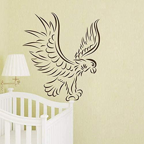 Vinyl Sticker Animal Decal Interior Design Mural Kids Nursery Room Bedding Decor (22 X 22) - Brown Black Modern Contemporary