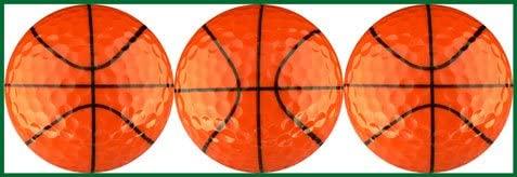 EnjoyLife Inc Basketballs Golf Ball Gift Set