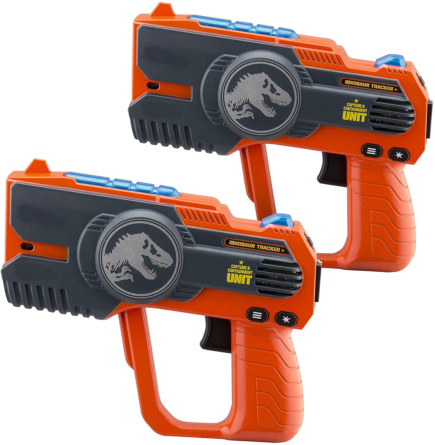 Jurassic World 2 Laser-Tag for Kids Infared Lazer-Tag Blasters Lights Up & Vibrates When Hit